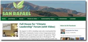 Sustainable San Rafael