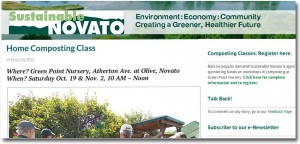 Sustainable Novato